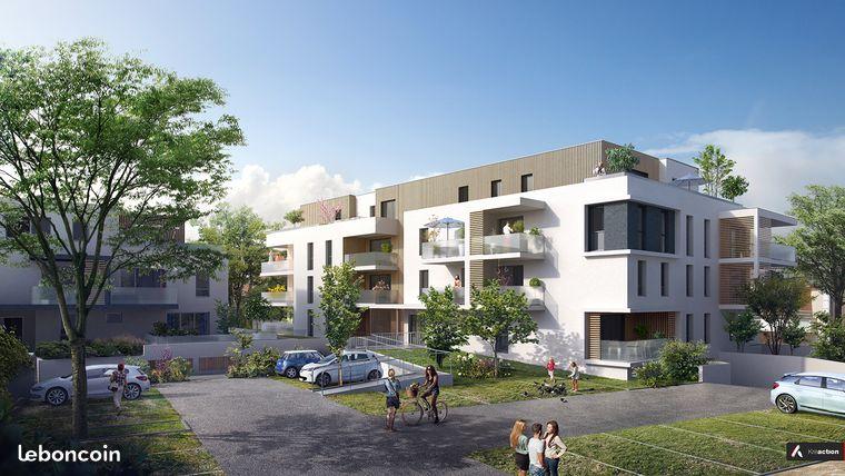 Très beau 3 pièces en étage terrasse SUD 19m²